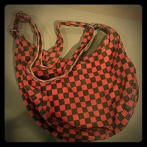 Checkered H&M purse